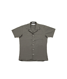 Camp Shirt Twill Dark Green
