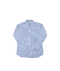 Standard Fit Cambridge Oxford Blue Stripe