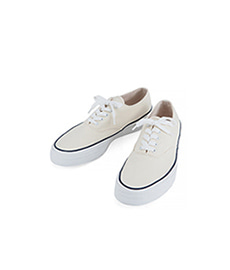 Deck Shoes Low White Sole Off-White