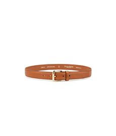 Havana Calf Leather Belt