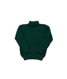 U-Boat Roll Neck Sweater Racing Green