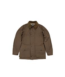 Halifax Dry Wax Field Coat Khaki Brown