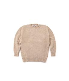Shaggy Dog Crew Neck Sweater Tusk