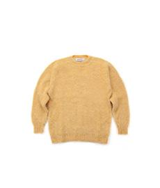 Shaggy Dog Crew Neck Sweater Marzipan