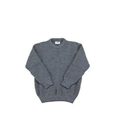 Crew Neck Sweater Battleship Grey