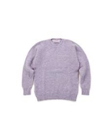 Shaggy Dog Crew Neck Sweater Confetti
