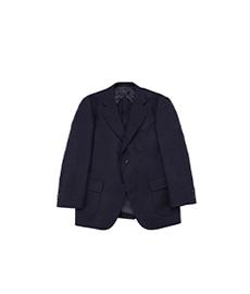 University Jacket Wool Flannel Navy