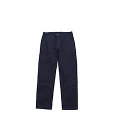 Eddie Five Pocket Trousers Dark Woad Overdyed Denim