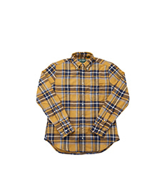 Rough Check Flannel Yellow