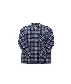 Pyjama Shaggy Flannel Navy