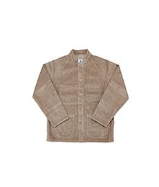 Raglan Heave Corduroy Jacket Beige