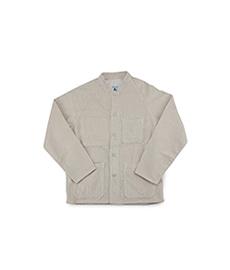 Raglan Heave Corduroy Jacket Cream