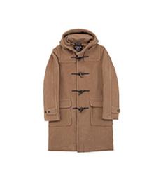 Newton Abbot Duffle Coat Camel