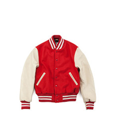 Contemporary Fit Varsity Red/Cream
