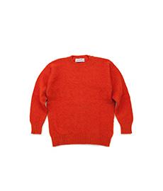Shaggy Dog Crew Neck Sweater Spice