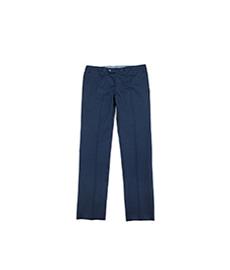 Stretch Cotton Pants Navy