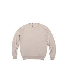 Clundy Pullover L/S Light Taupe
