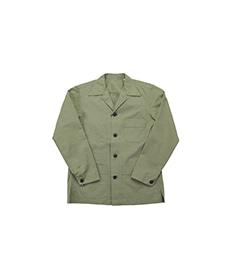 Cotton/Linen Shacket Olive
