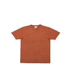 Short Sleeve Crew Neck T-Shirt Spice Melange