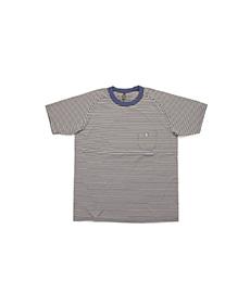 New Basic T-shirt Border Navy