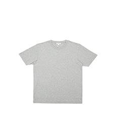 Short Sleeve Riviera Crew Neck T-Shirt Grey Melange