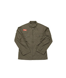 USN Flight Jacket Vintage Poplin Olive