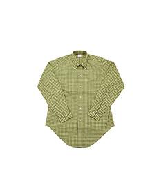 BD Shirt Poplin Plaid Yellow