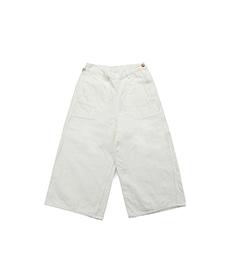 Baggy Ranch Pants White