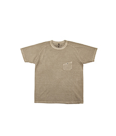 New Basic T-Shirt Pigment Khaki