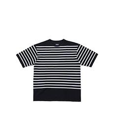Pontus Rachel Cotton Mesh Navy/White Stripes