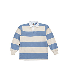 Classic Rugby Jersey Columbia/Ivory