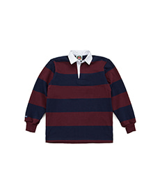 Classic Rugby Jersey Navy/Harvard