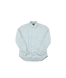 Oxford Shirt Green Stripe