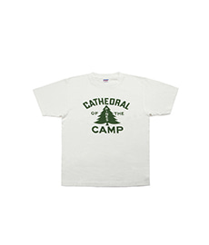 Crew Neck T-Shirt Cathdral Off White