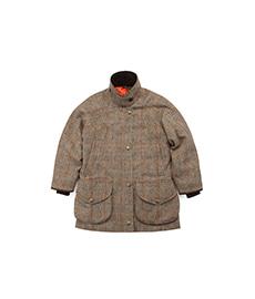 Cotswold Field Coat Brown Herringbone