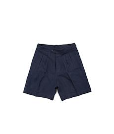 Shorts Navy Linen