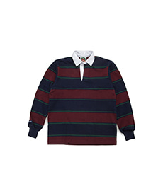 Classic Rugby Jersey Navy/Bottle/Harvard