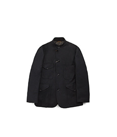 Tropical Officer Keepers Tweed Charcoal Grey