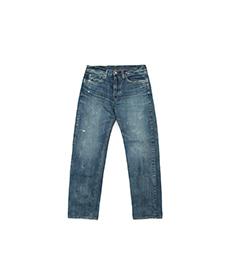 5P Standard Damaged Jeans Used Wash