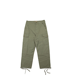 Piped Pants Cotton Ripstop Army