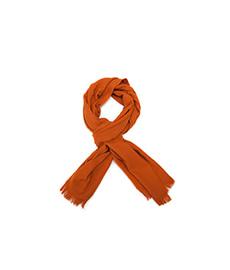 Escorial Plain Stole Orange