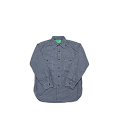 USN 40s Chambray Shirt Indigo