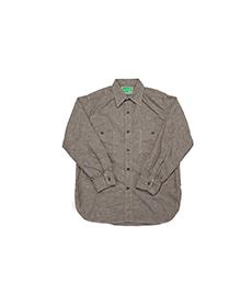 USN 40s Chambray Shirt Khaki