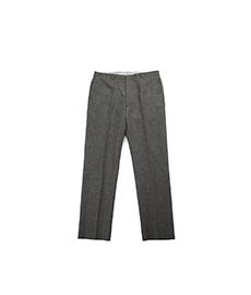 Trim Trouser Fox Solid Flannel Grey
