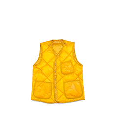 GT Liner Down Vest for Jungle Fatigue Yellow