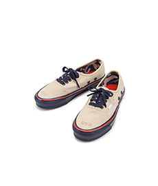 Nigel Cabourn X Vault by Vans OG Authentic LX Worn White/Navy