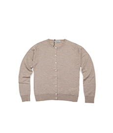 Pansy Short Cardigan L/S Soft Fawn