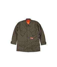 GT Jungle Fatigue Jacket with Orange Down Liner Olive