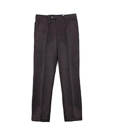 Wool Flannel Pants Brown