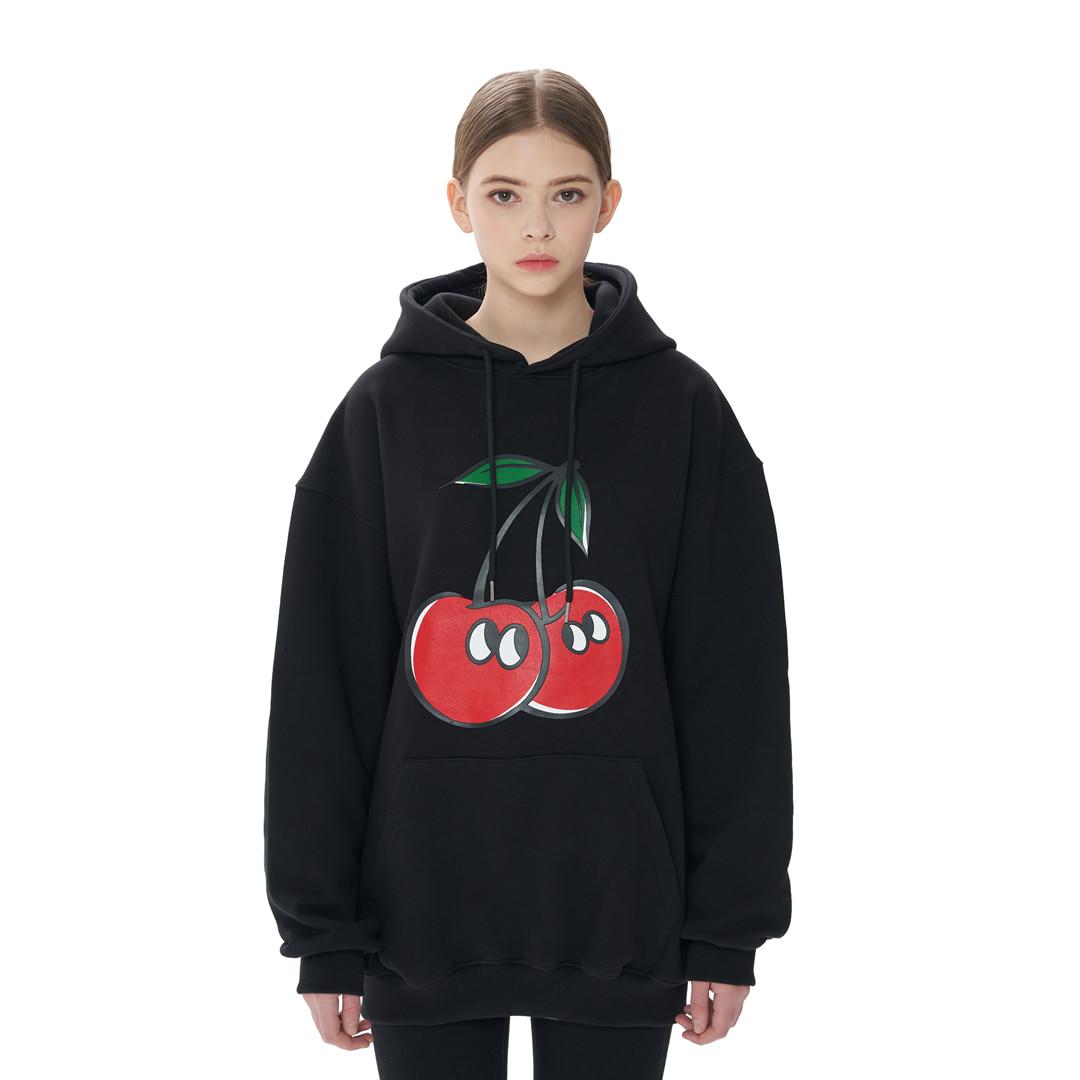 """""""Cherry"""" Hoodie (black)"""